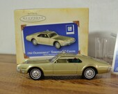 1966 Oldsmobile Toronado Coupe Hallmark Keepsake Chrsitmas Ornament in Classic American Car 39 s Collector Series GM 2004