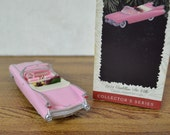 1959 Pink Cadillac De Ville Hallmark Keepsake Chrsitmas Ornament in Classic American Car 39 s Collector Series