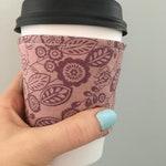Coffee Cozy- Reusable Coffee Cup Sleeve