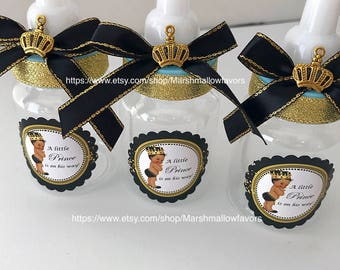 12 Little Prince Baby Shower Favors Royal Prince Baby Etsy