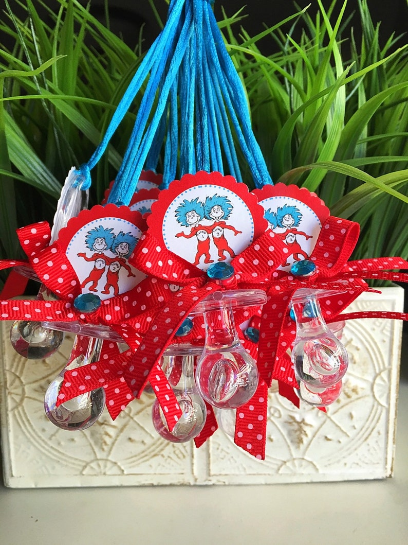 12 Thing 1 And Thing 2 Baby Shower Thing 1 And Thing 2 Etsy