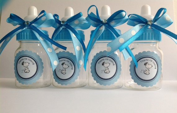 Snoopy Baby Shower Favors