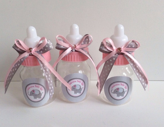 12 Small 35 Baby Elephant Girl Baby Shower Favors Etsy