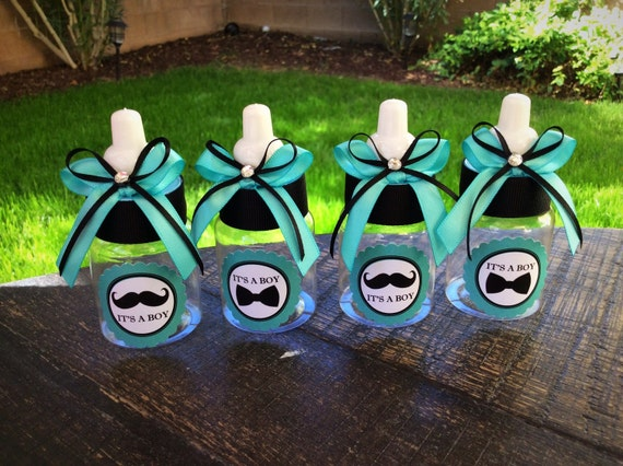 Baby Shower Favors Mustache mustache teal baby shower favors teal mustache baby shower | etsy