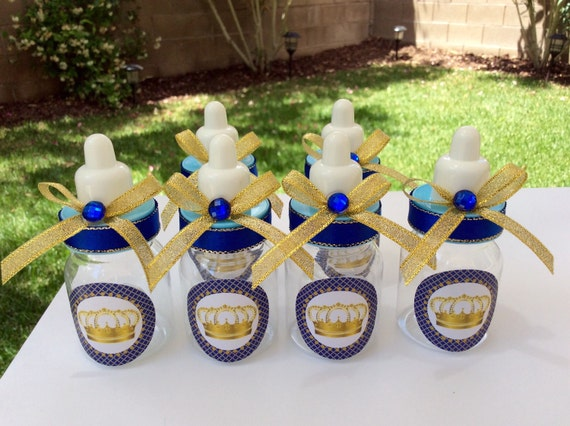 12 Small 35 Royal Blue Baby Shower Favors Little Etsy