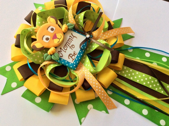 Lion King Baby Shower Mommy To Be Bow Etsy