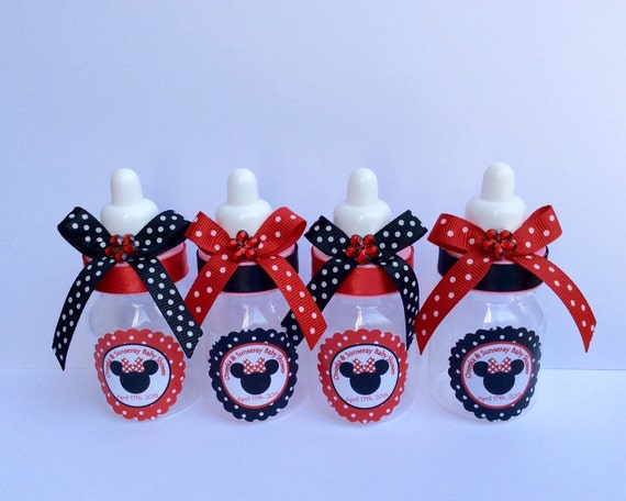 12 Small 35 Minnie And Mickey Mouse Baby Shower Favors Etsy