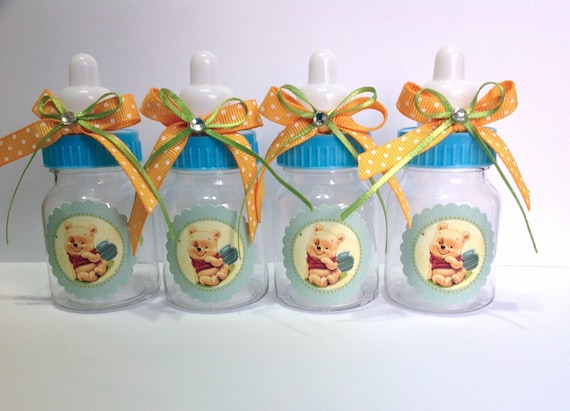 12 Small 35 Winnie The Pooh Baby Shower Favors Baby Etsy