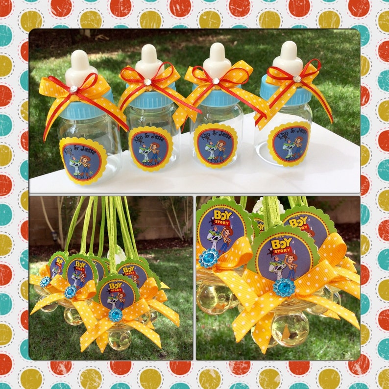 12 Disney Toy Story Baby Shower Favors Toy Story Baby Shower Etsy