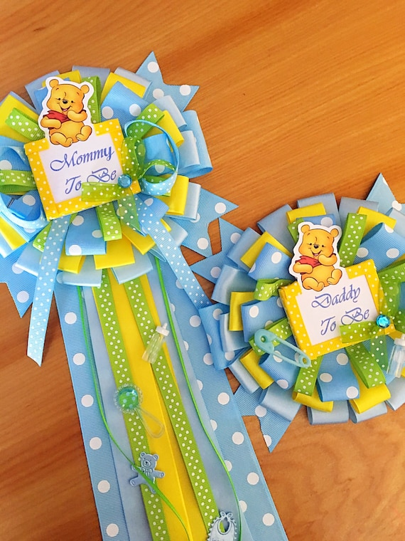 winnie the pooh corsage set