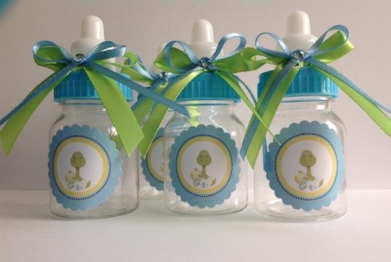 12 Small 35 Baby Dinosaur Bottles Baby Shower Favors Etsy