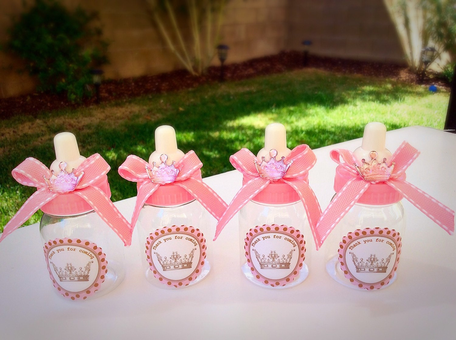 12 Little princess Baby shower favors princess baby shower | Etsy