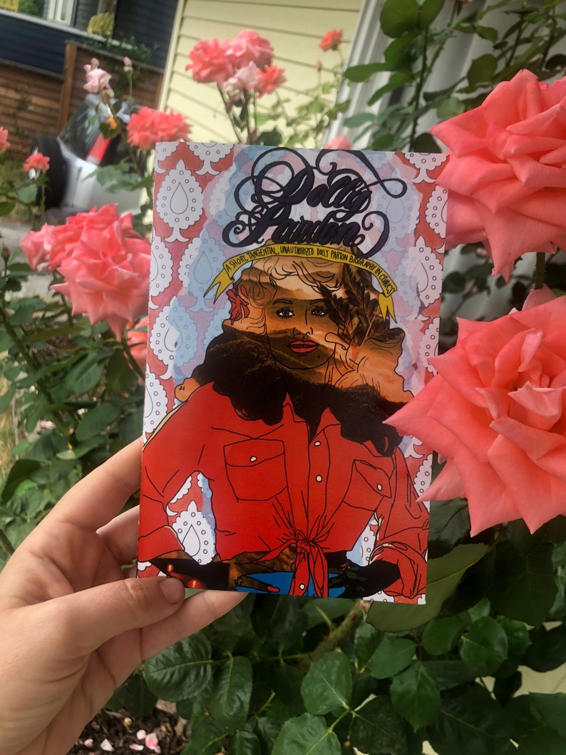 Dolly Pardon  a comics anthology biography image 1