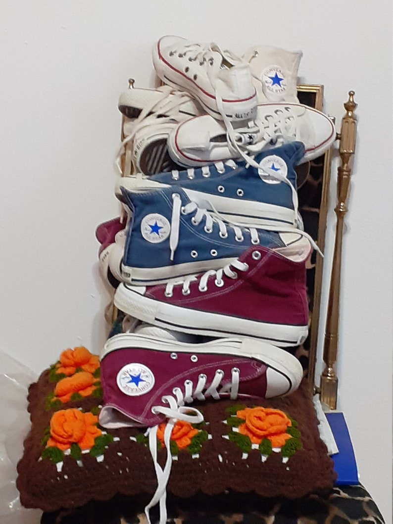 Converse Chuck Taylor Vintage sneakers Made in USA anni 80 US 5RQv5Xh6