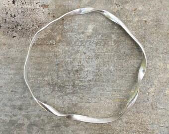 Silver bracelet, Silver bangle