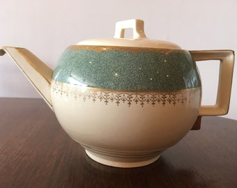 Art Deco, Vintage, Teapot, Collectable, Johnson Bros, England.