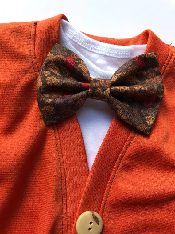 88f116b01e93 Fall Baby Cardigan and Bowtie Cardigan with Elbow Patches