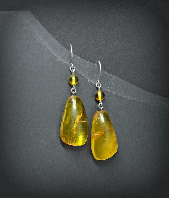 amber earrings circle earrings birthday gifts for women everyday earrings bohemian jewelry sterling silver dangle earrings handmade