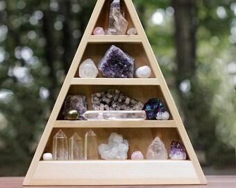 "Unfinished DIY Wood Shelf - 14.5"" Tall"