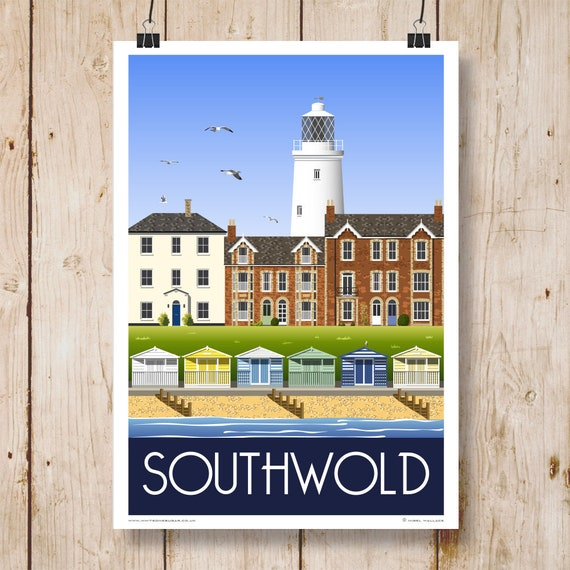 Wall Art Home Decor: Southwold Lighthouse Lighthouse Poster Southwold Suffolk Poster Print Suffolk