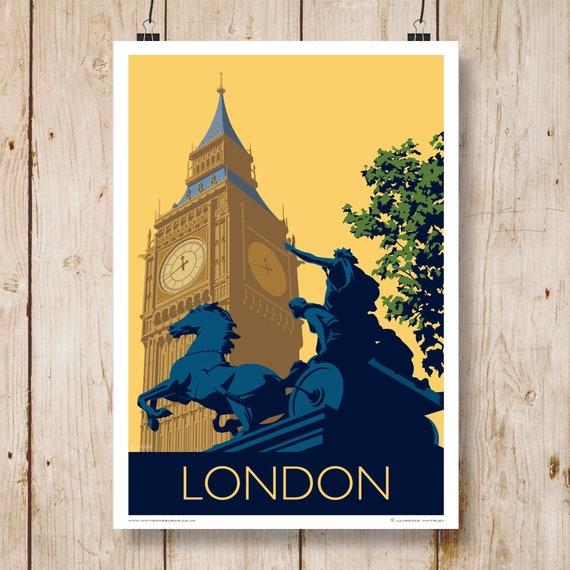A4,A3,A2,A1 Home Wall Art Print LONDON BIG BEN City Buildings Poster