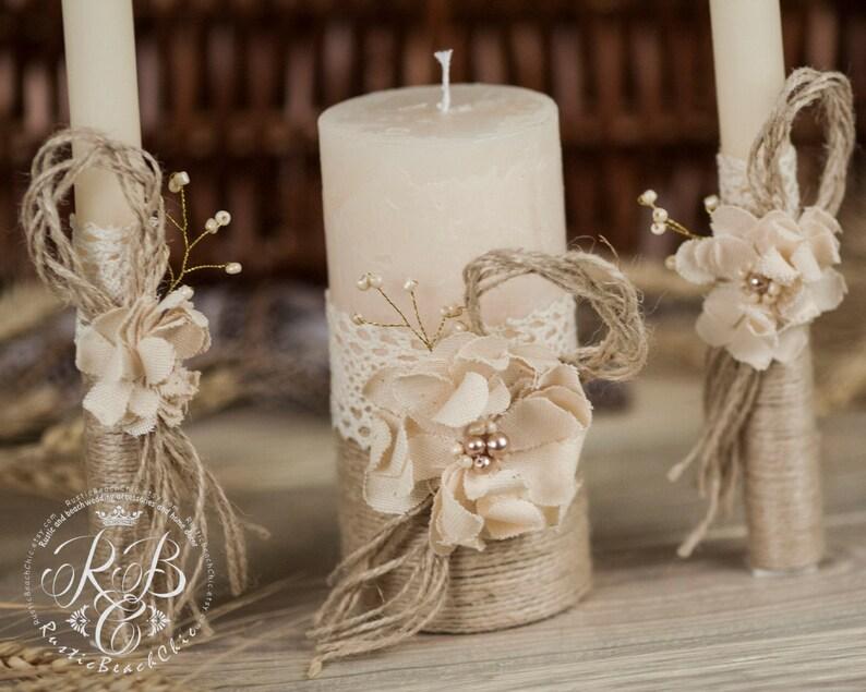 Matrimonio Rustico Como : Matrimonio personalizzato candela cerimonia unità candela etsy