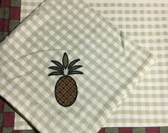 Pineapple Monogram Placemat