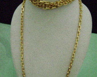 Nautical Style Gold Chain 18K bonded