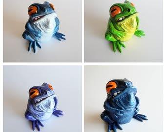 Froggo - Resin Art Toy