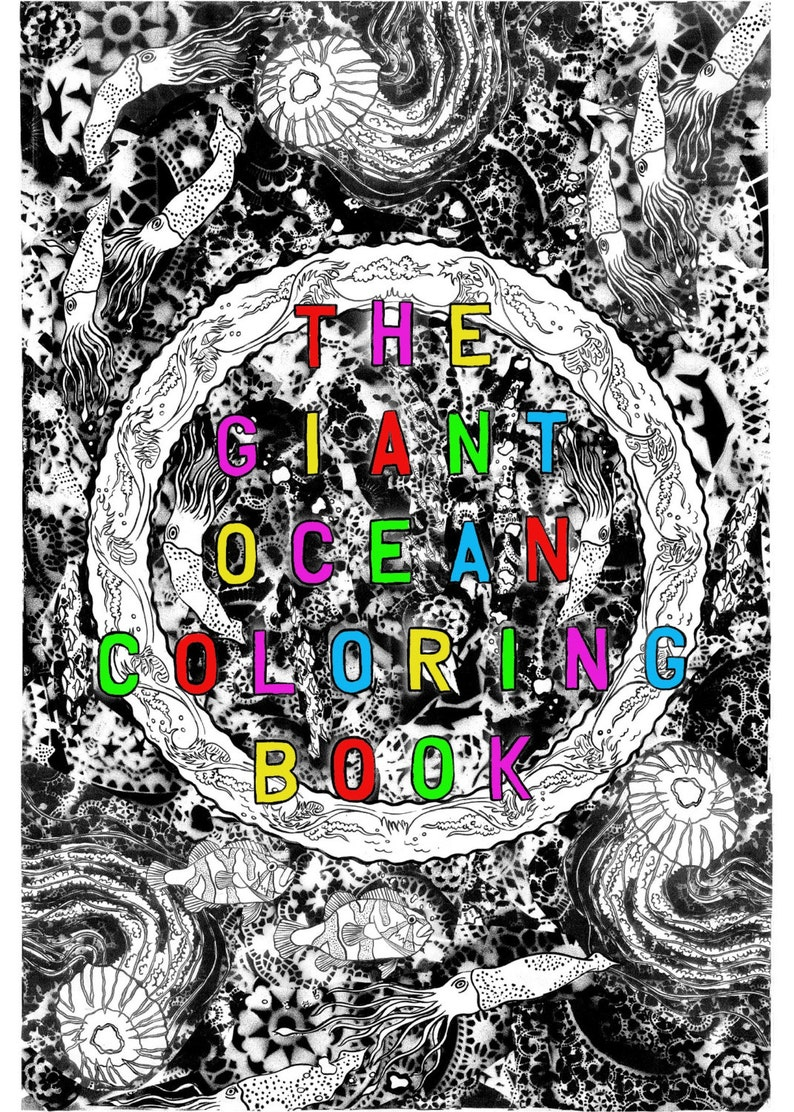 The Giant Ocean Coloring Book