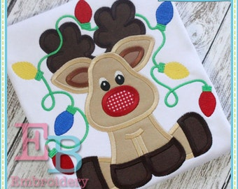 Christmas applique etsy