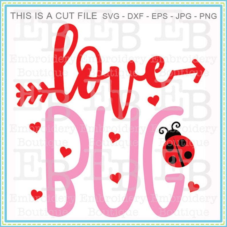 Download Love Bug SVG Design Valentine SVG Cut File Holiday Cut ...