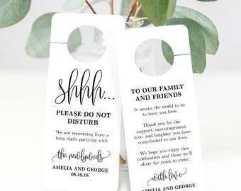 Door Hanger Template Etsy