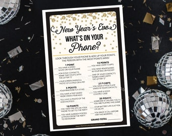 new years eve game new years eve wedding whats on your phone game family new years eve game party games happy new year