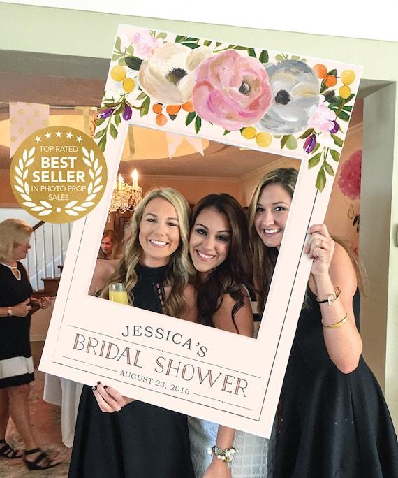 Bridal Shower Photo Prop Wedding Photo Prop Sweet Blooms Etsy