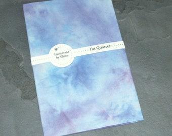 Purple Blue Fat Quarter - Navy Blue, Sky Blue, Ice Blue, Turquoise, Slate Blue, Amethyst, Tyrian Purple, Purple Plum, Orchid, Grape, 5203