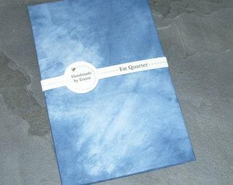 Blue Fat Quarter - Dark Azure Blue, Blue Ashes, Mariana Blue, Zenith Blue, Sea Blue, Smoke Blue, Sapphire Ice, Lapis Blue, Turkish Blue,5201