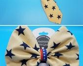 Cream Patriotic Stars Sli...