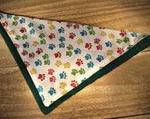 Small Multicolor Paws Sli...