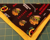 Blackhawks No-Tie Pet Ban...