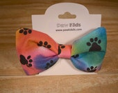 Tie Dye Pawprints Slip Th...