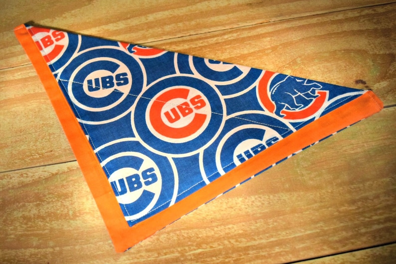 Chicago Cubs MLB Baseball Slip Through Collar No Tie Pet image 0
