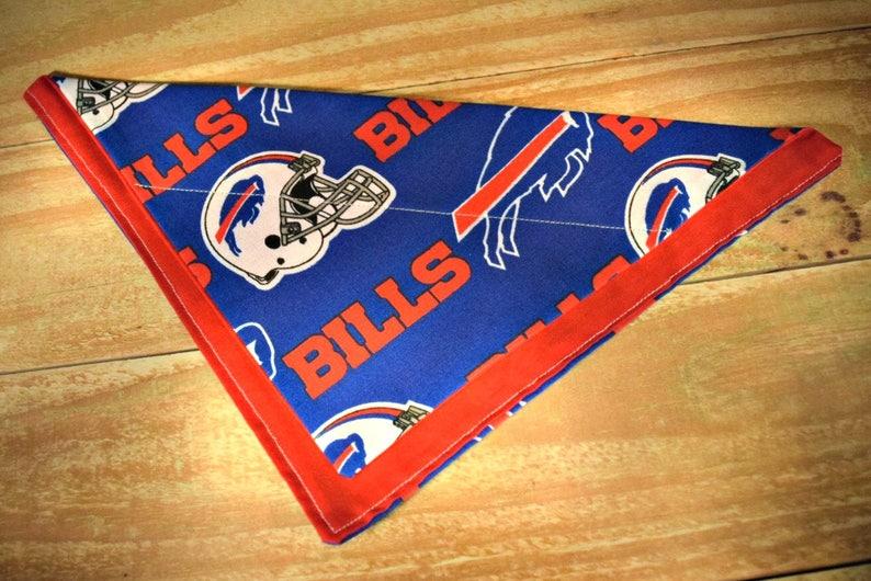 Buffalo Bills NFL Football Slip Through Collar No Tie Pet image 0
