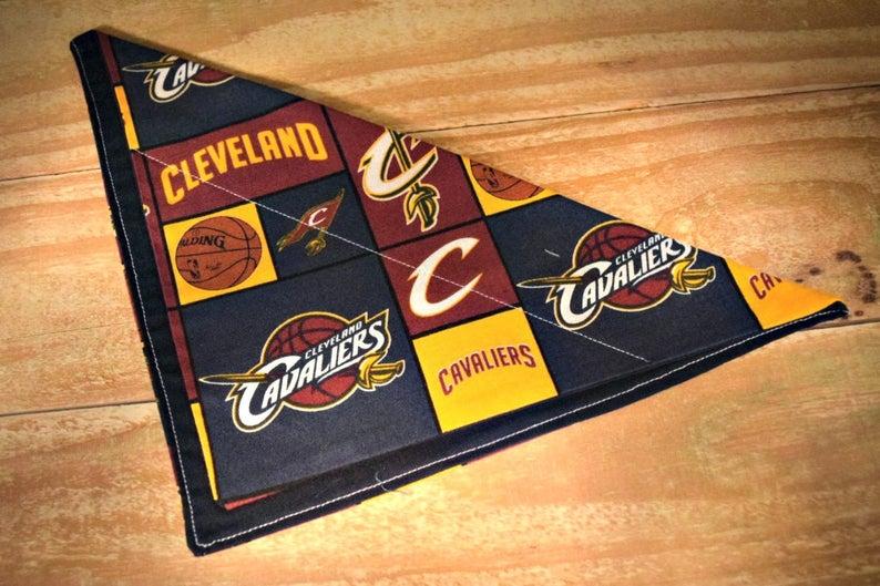 Cleveland Cavaliers NBA Basketball Slip Through Collar No Tie image 0