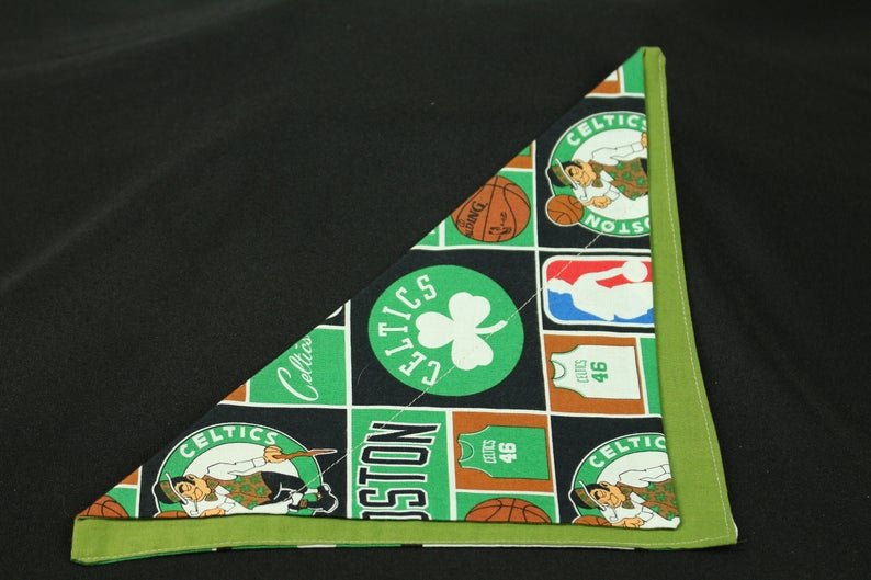 Bostons Celtics NBA Basketball Slip Through Collar Pet No Tie image 0