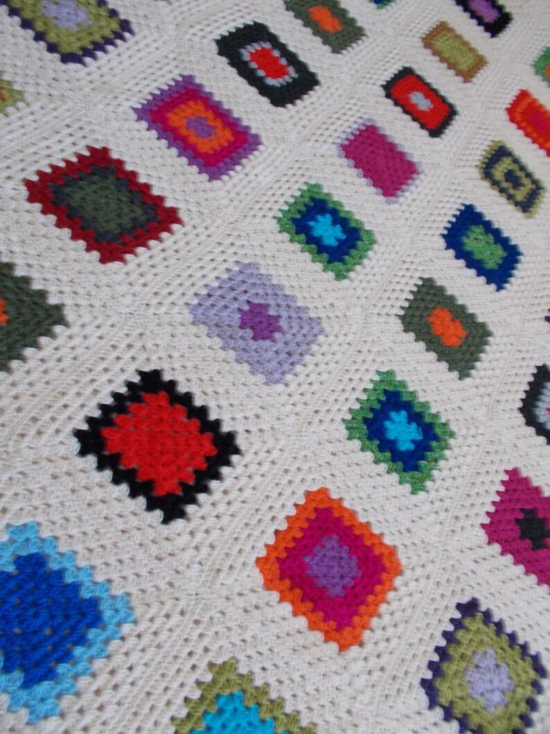 Coperta della nonna grandma  blanket in lana  33274547d242