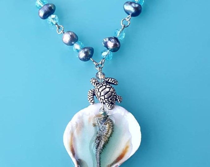 Mermaid Treasures -Turtle Seahorse