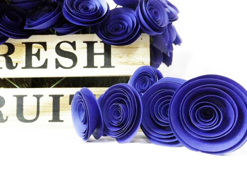 Peachy Blue Paper Flowers Winter Wedding Navy Blue Wedding Centerpiece Floral Arrangement Wedding Paper Flowers Paper Roses Something Blue Download Free Architecture Designs Remcamadebymaigaardcom