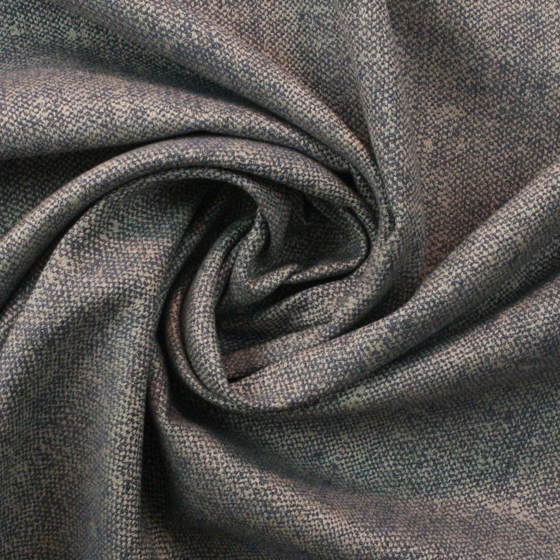 SUNBRELLA\u00ae 45864-0051 CHARTRES STORM Blue Gray Woven Solid Outdoor Indoor Furniture Drapery Upholstery Craft Pillow Fabric By Yard 54Wide