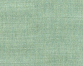 """SUNBRELLA ® 5413 CANVAS SPA Blue Fade & Water Resistant Solid Outdoor Indoor Drapery Upholstery Pillow Fabric By The Yard 54""""Wide #SB5413"""
